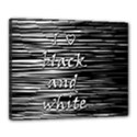 I love black and white Canvas 20  x 16  View1