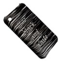 I love black and white Apple iPhone 3G/3GS Hardshell Case View5