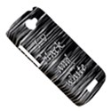 I love black and white HTC One S Hardshell Case  View5