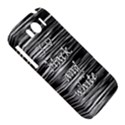 I love black and white HTC Sensation XL Hardshell Case View5
