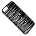 I love black and white Apple iPhone 5 Classic Hardshell Case View5