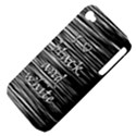 I love black and white Apple iPhone 4/4S Hardshell Case (PC+Silicone) View4