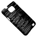 I love black and white Samsung Galaxy S II i9100 Hardshell Case (PC+Silicone) View5