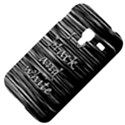 I love black and white Samsung Galaxy Ace Plus S7500 Hardshell Case View4