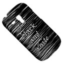 I love black and white Samsung Galaxy S3 MINI I8190 Hardshell Case View5