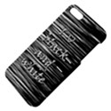 I love black and white Apple iPhone 5 Hardshell Case with Stand View4