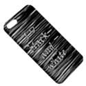 I love black and white Apple iPhone 5 Hardshell Case with Stand View5