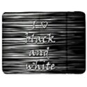 I love black and white Samsung Galaxy Tab 7  P1000 Flip Case View1