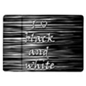 I love black and white Samsung Galaxy Tab 10.1  P7500 Flip Case View1