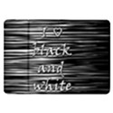 I love black and white Samsung Galaxy Tab 8.9  P7300 Flip Case View1