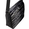 I love black and white Flap Messenger Bag (L)  View2