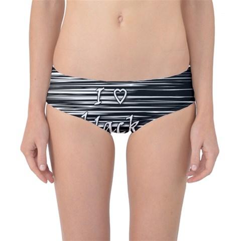 I love black and white Classic Bikini Bottoms