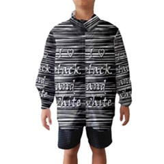 I love black and white Wind Breaker (Kids)