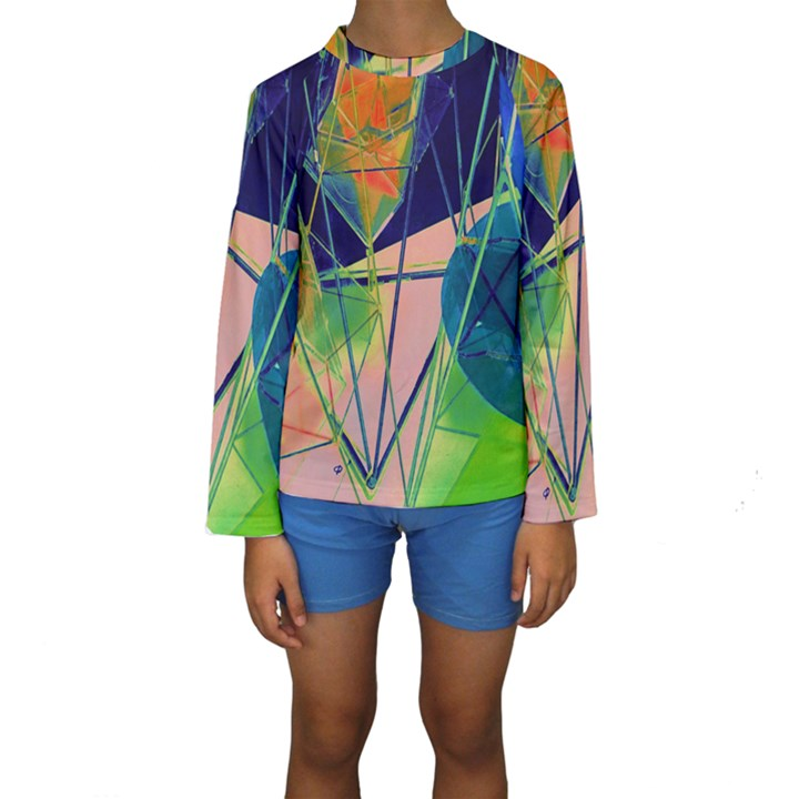 New Form Technology Kids  Long Sleeve Swimwear