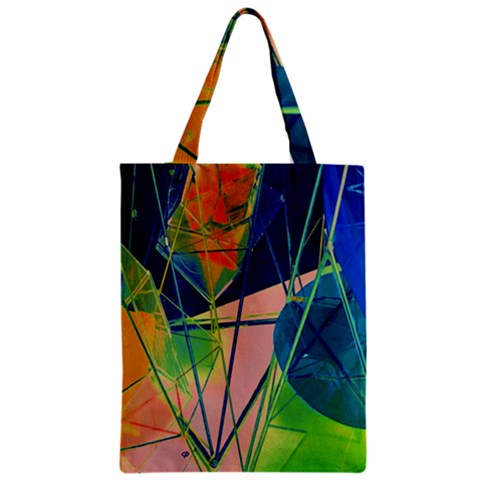 New Form Technology Zipper Classic Tote Bag