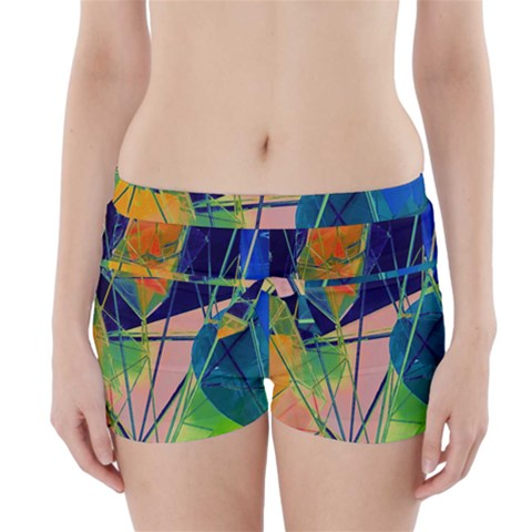 New Form Technology Boyleg Bikini Wrap Bottoms