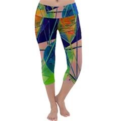 New Form Technology Capri Yoga Leggings