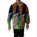 New Form Technology Hooded Wind Breaker (Kids) View1