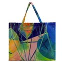 New Form Technology Zipper Large Tote Bag View1