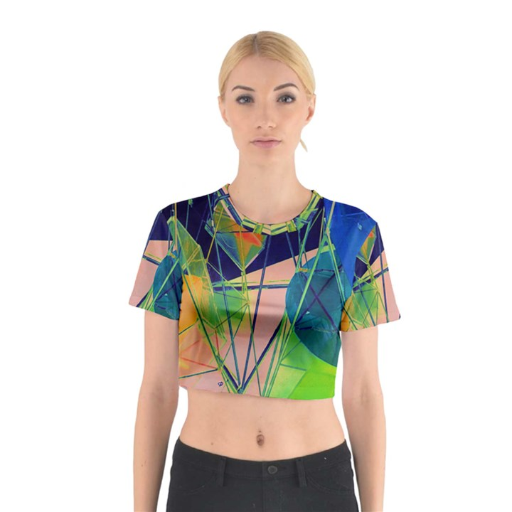New Form Technology Cotton Crop Top