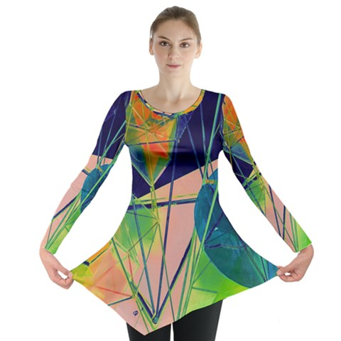 New Form Technology Long Sleeve Tunic