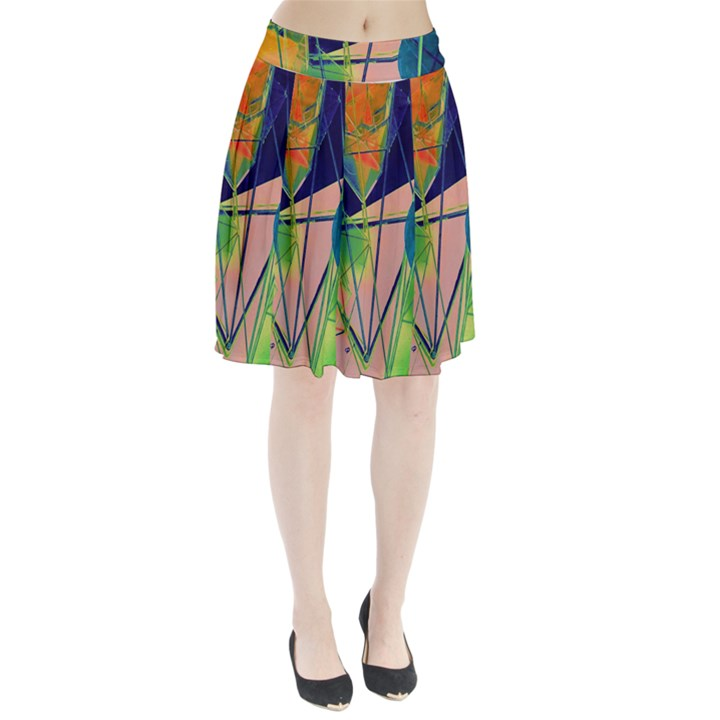 New Form Technology Pleated Skirt