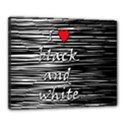 I love black and white 2 Canvas 20  x 16  View1