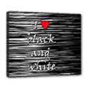 I love black and white 2 Deluxe Canvas 24  x 20   View1