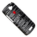 I love black and white 2 HTC One S Hardshell Case  View5