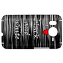 I love black and white 2 HTC Desire HD Hardshell Case  View1