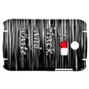 I love black and white 2 Samsung S3350 Hardshell Case View1