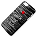 I love black and white 2 Apple iPhone 5 Classic Hardshell Case View4