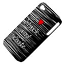I love black and white 2 Apple iPhone 4/4S Hardshell Case (PC+Silicone) View4