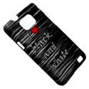 I love black and white 2 Samsung Galaxy S II i9100 Hardshell Case (PC+Silicone) View5