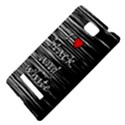 I love black and white 2 HTC 8S Hardshell Case View4
