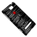 I love black and white 2 HTC 8S Hardshell Case View5