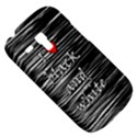 I love black and white 2 Samsung Galaxy S3 MINI I8190 Hardshell Case View5