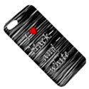 I love black and white 2 Apple iPhone 5 Hardshell Case with Stand View5