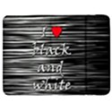 I love black and white 2 Samsung Galaxy Tab 7  P1000 Flip Case View1