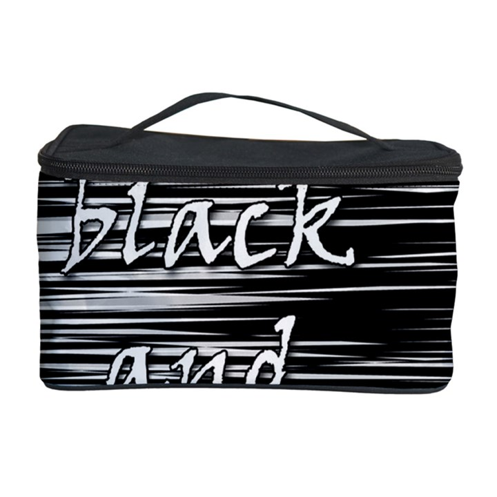 I love black and white 2 Cosmetic Storage Case