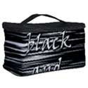 I love black and white 2 Cosmetic Storage Case View2