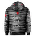 I love black and white 2 Men s Pullover Hoodie View2