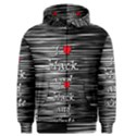 I love black and white 2 Men s Zipper Hoodie View1