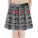 I love black and white 2 Pleated Mini Skirt View1