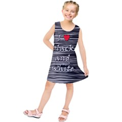 I love black and white 2 Kids  Tunic Dress