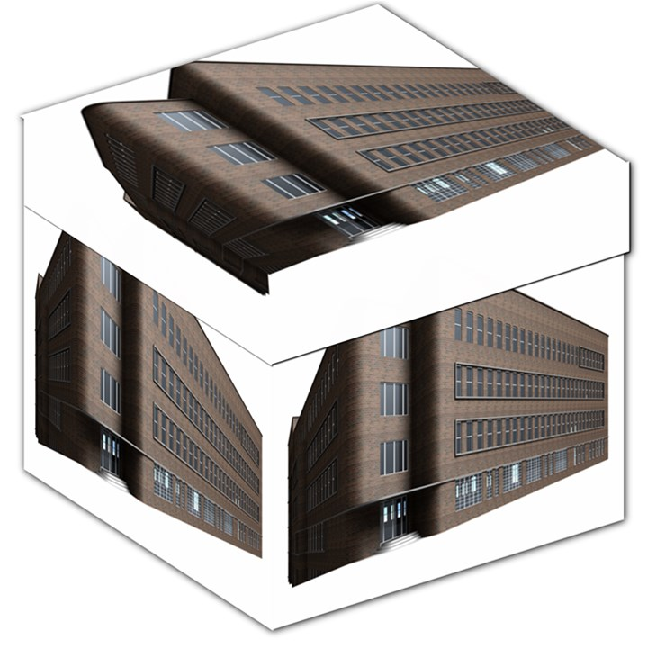 Office Building Villa Rendering Storage Stool 12