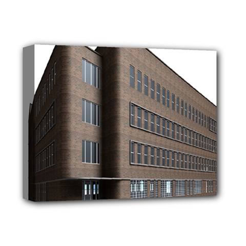 Office Building Villa Rendering Deluxe Canvas 14  x 11
