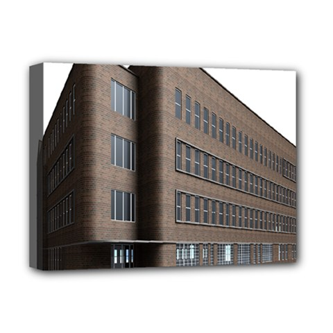 Office Building Villa Rendering Deluxe Canvas 16  x 12