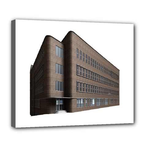 Office Building Villa Rendering Deluxe Canvas 24  x 20