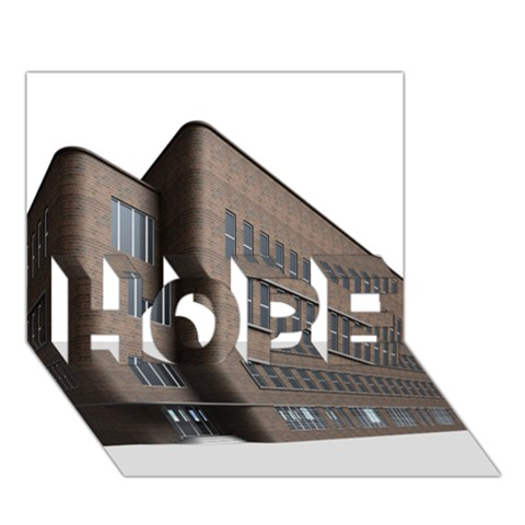 Office Building Villa Rendering HOPE 3D Greeting Card (7x5)